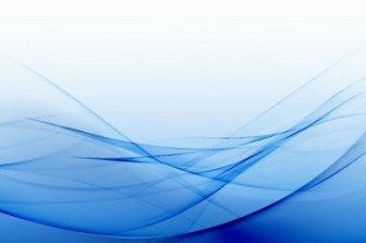 Blue Curved Background Abstract Vector