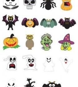 Pumpkins Halloween Vector Design