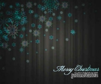 Christmas Snowflake Vector Background