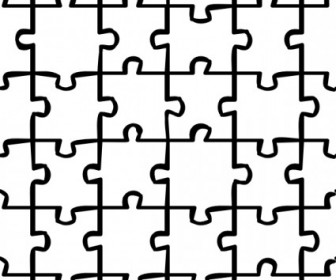 Puzzle Art Pattern Vector