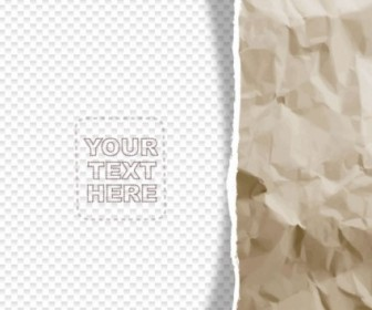 Vector Fold Paper Background