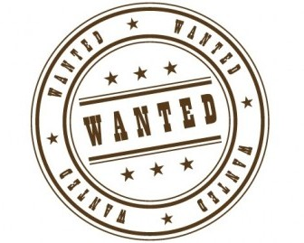 Wanted Stamp Vector