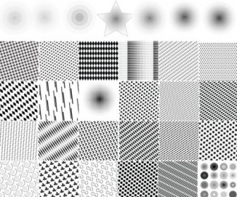 Dot Pattern Vector Pack