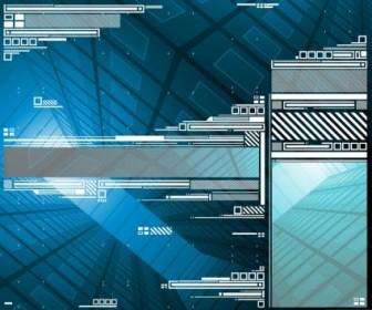 Digital Background Design Vector