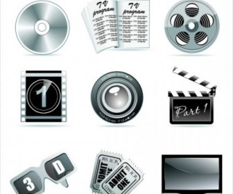 Film Tools Vector Elements
