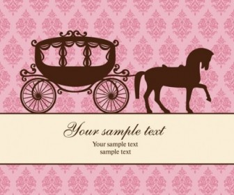 Carriage Trend Pattern Background Vector