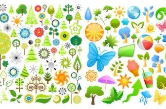 Summer Icons Vector Pack