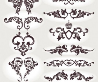 Vector European Patterns 05 Pattern Vector Art