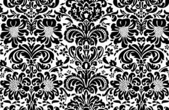 Vector Vintage Floral Wallpapers Flower Vector Art
