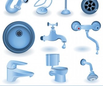Vector Toilet Articles Vector Art