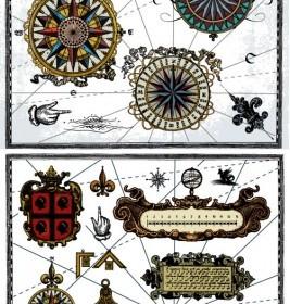 Vector Nautical Theme Vector Art