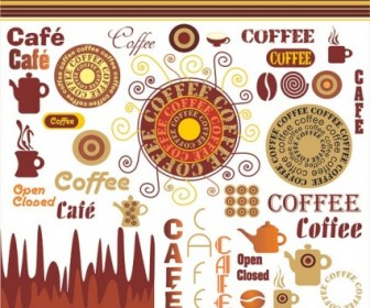 Vector Coffee Vector Art