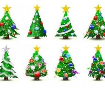 Vector Tree Christmas Vector Graphics