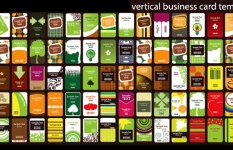 Vector Section 80 Card Template Background Vector Art