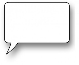 Vector Speech Bubble Vector Clip Art