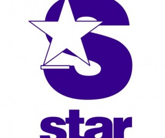 Vector Star Tv Logo Vector Art