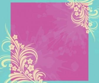 Vector Frame Floral Vector Art