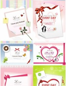 Vector Valentine Day Theme Heart Vector Art