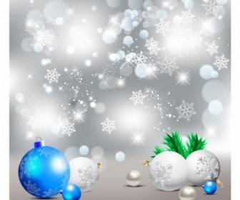 Vector Elegant Background Christmas Vector Graphics
