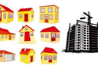Vector House Building Vector Art