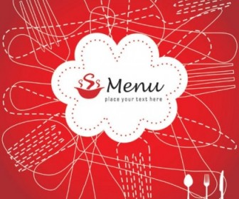 Vector Exquisite Menu Cover 01 Vector Art