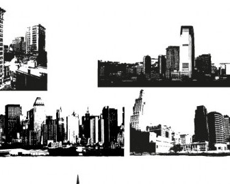Vector City Skyline Images Vector Art