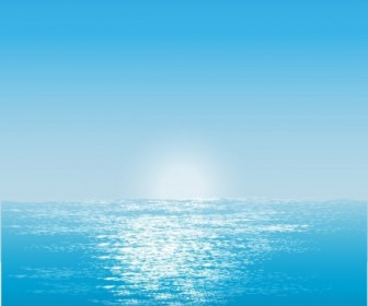 Vector Water Surface Background Vector Art