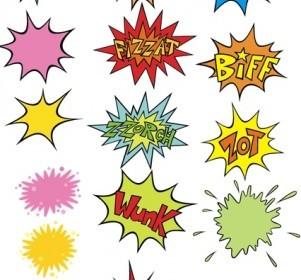 Vector Comic BlowUp Vector Art