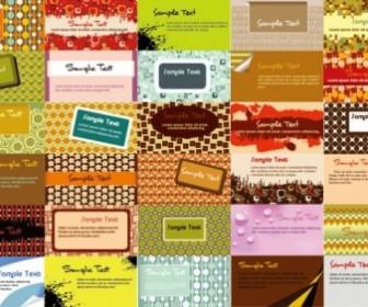 Vector Beautiful Business Card Template 02 Vector Art