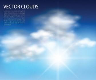 Vector Blue Sky Vector Art