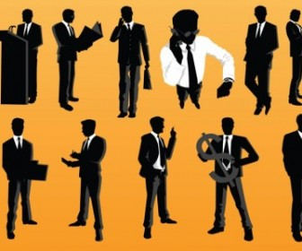 Vector Businessman Vector Art