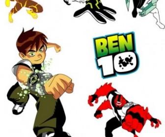 Vector Ben10 Character Vector Art