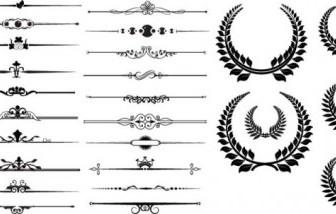 Vector Fine Border 02 Pattern Vector Art