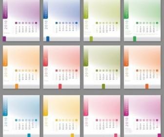 Vector 2010 CD Calendar Vector Art
