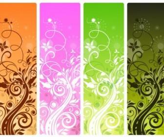 Vector Floral Design Vector Banner