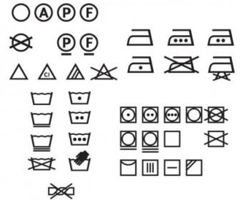Vector Washing Logo Icon Vector Graphics