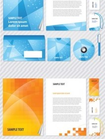 Vector Elements Of The Fashion Business Vi Template Vector Art