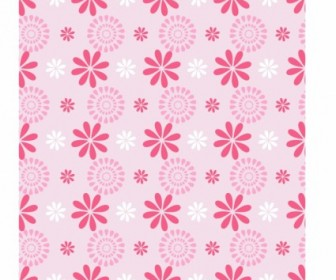 Vector Flower Pattern Vector Art