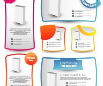 Vector Trend Label Stickers 03 Vector Art