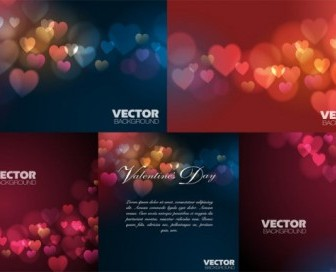 Vector Love Dream Background Vector Art