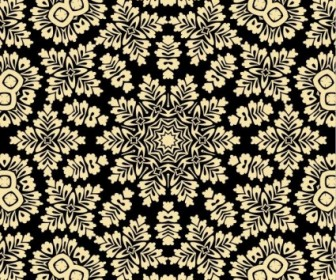 Vector Seamless Background Floral Vector Art