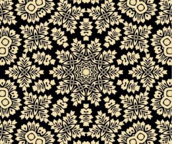 Vector Seamless Background Floral Vector Art