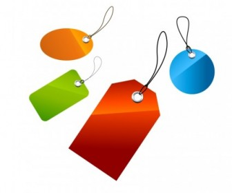 Vector Set Of Price Tags Vector Art