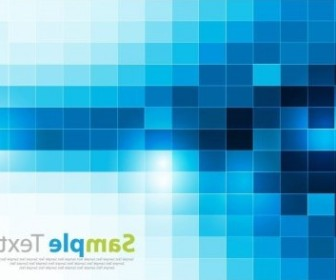 Vector Square Pixel Mosaic Background Abstract Vector Graphics