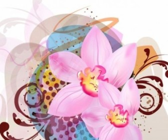 Vector Illustration Flower Vector Art