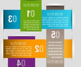 Vector Paper Infografics Abstract Vector Graphics