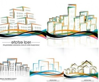 Vector House Abstract Vector Graphics