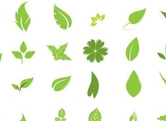 Vector Going Green With Leaves Vector Art