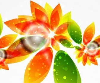 Vector Abstract Background Graphic Floral Vector Art