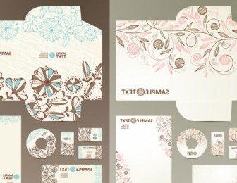 Vector Cute Theme Vi Template Pattern Vector Art